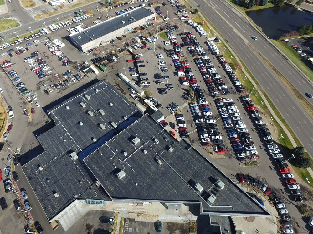 Commercial Eco Roof And Solar